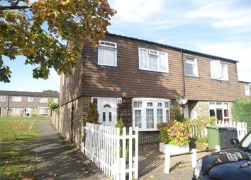 Thumbnail 3 bed end terrace house for sale in Somerset Close, Epsom