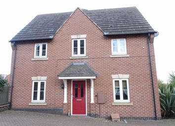 Thumbnail 3 bed town house for sale in Montgomery Road, Earl Shilton, Leicester