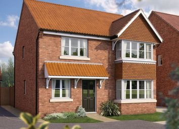 "Thumbnail 4 bed detached house for sale in ""The Canterbury"" at Coupland Road, Selby"