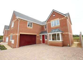 Thumbnail 4 bed detached house for sale in Main Road, Wrinehill, Crewe