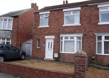 Thumbnail 2 bed semi-detached house to rent in Stakeford Lane, Choppington, Northumberland