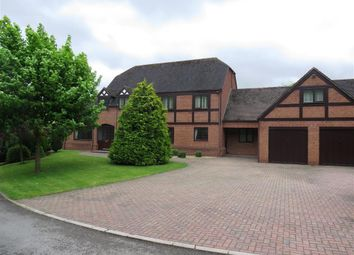 Thumbnail 5 bed detached house to rent in School Lane, Hints, Tamworth