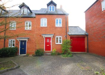 Thumbnail 3 bed end terrace house for sale in Blandamour Way, Bristol
