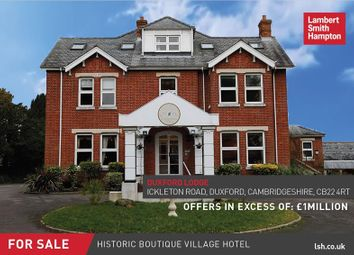 Thumbnail Commercial property for sale in Duxford Lodge Hotel, Ickleton Road, Cambridge, Cambridgeshire