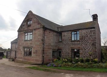 Thumbnail 4 bed detached house for sale in Ipstones, Stoke-On-Trent