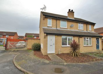 Thumbnail 2 bedroom semi-detached house for sale in Tay Close, St. Ives, Huntingdon
