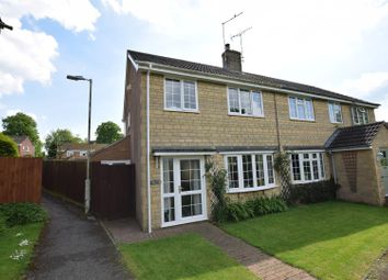 Thumbnail 3 bed semi-detached house for sale in Pinfold Close, South Luffenham, Rutland