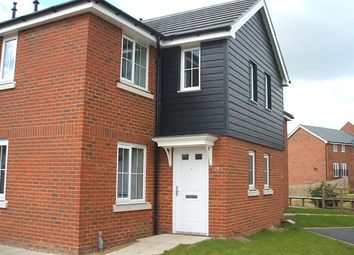 Thumbnail 2 bed terraced house for sale in Guillemot Close, Stowmarket