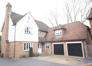 Thumbnail 5 bed detached house for sale in Busbridge Close, East Malling