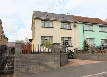 Thumbnail 2 bed semi-detached house for sale in Llanfach Road, Abercarn, Newport