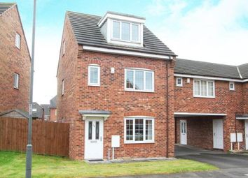 Thumbnail 4 bed town house for sale in Spinkhill View, Renishaw, Sheffield, Derbyshire