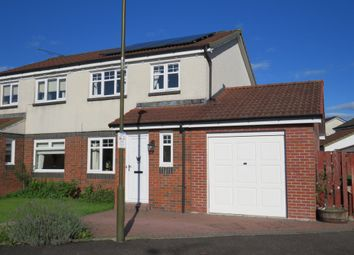 Thumbnail 3 bedroom semi-detached house for sale in Mowbrey Court, Stirling