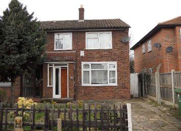 Thumbnail 3 bed semi-detached house to rent in Bennetts Castle Lane, Dagenham, Essex