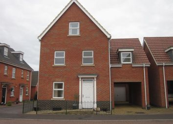 Thumbnail 4 bedroom detached house to rent in Holystone Way, Carlton Colville, Lowestoft