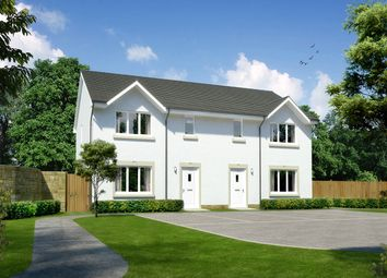 """Thumbnail 3 bed semi-detached house for sale in """"Caplewood"""" at Orchardfield, East Linton"""