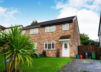 Thumbnail 3 bed semi-detached house for sale in Osprey Close, St. Mellons