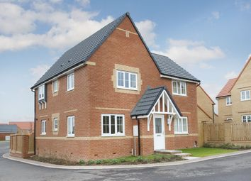 "Thumbnail 4 bed detached house for sale in ""Lincoln"" at Stanley Close, Corby"