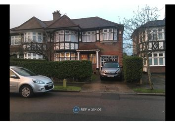 Thumbnail 4 bed semi-detached house to rent in Sedgecombe Avenue, Harrow