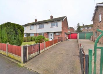 Thumbnail 4 bed semi-detached house for sale in Petersmith Drive, New Ollerton, Newark