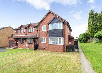 Thumbnail 2 bed end terrace house for sale in Banstead Close, Wolverhampton, West Midlands
