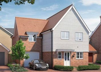 Thumbnail 3 bed detached house for sale in Barker Close, Bishop's Stortford