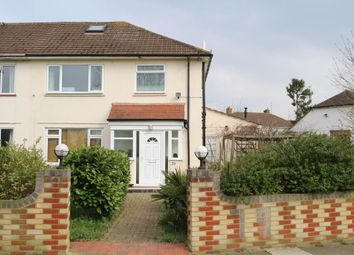 Thumbnail 3 bed semi-detached house to rent in Windsor Avenue, New Malden