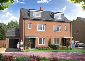 Thumbnail 4 bed semi-detached house for sale in Rowtown, Surrey