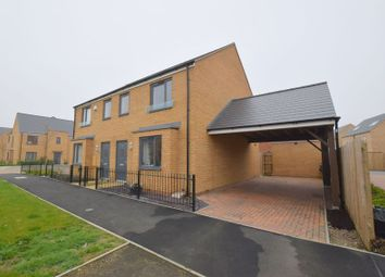 Thumbnail 3 bed semi-detached house for sale in Holt Avenue, Brooklands, Milton Keynes