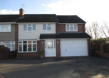 Thumbnail 5 bed semi-detached house to rent in Duke Crescent, Giltbrook, Nottingham