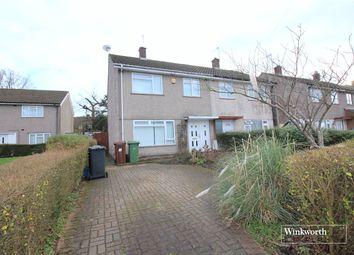Thumbnail 3 bedroom end terrace house to rent in Milton Drive, Borehamwood, Hertfordshire