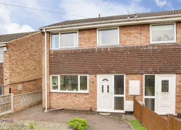 Thumbnail 3 bed semi-detached house for sale in Phyllis Close, Hucknall, Nottinghamshire