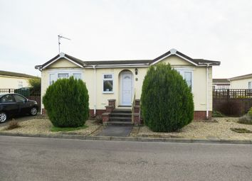 Thumbnail 2 bedroom mobile/park home for sale in Osborne Residential Park, Osborne Road, Wisbech