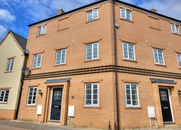 Thumbnail 3 bed town house for sale in Maze Avenue, Norwich