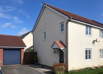 Thumbnail 2 bed end terrace house for sale in Whiteway Close, Whimple, Exeter