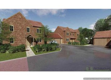 Thumbnail 4 bed detached house for sale in Laughton Road, Blyton, Gainsborough