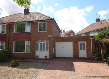Thumbnail 3 bed semi-detached house for sale in Moatfield, Osbaldwick, York