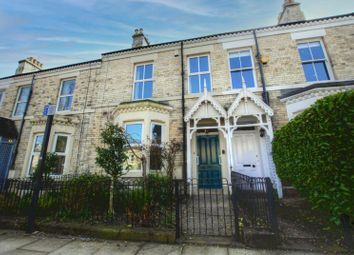 Thumbnail 4 bed terraced house for sale in Holly Avenue, Jesmond, Newcastle Upon Tyne