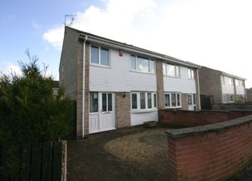 Thumbnail 3 bed semi-detached house to rent in Moorside Crescent, Sinfin, Derby