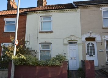 Thumbnail 2 bedroom terraced house for sale in Silver Road, Norwich