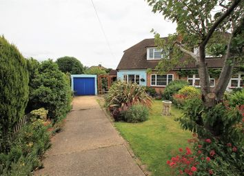 Thumbnail 3 bed property for sale in Hilltop Close, Rayleigh