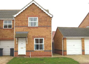 Thumbnail 2 bed semi-detached house to rent in Polyanthus Drive, Sleaford