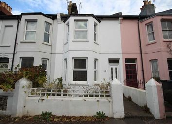 Thumbnail 3 bed terraced house for sale in Hertford Road, Worthing, West Sussex