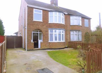 Thumbnail 3 bedroom semi-detached house for sale in Mead Close, Peterborough, Cambridgeshire.