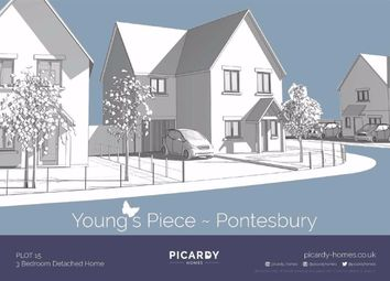 Thumbnail 3 bed detached house for sale in Young's Piece, Pontesbury, Shrewsbury