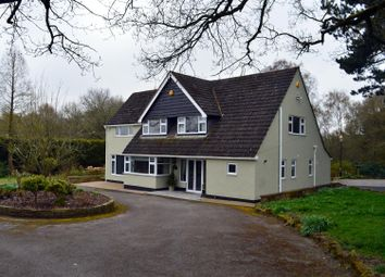 Thumbnail 4 bed detached house to rent in Belper Road, Stanley Common, Ilkeston