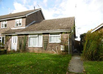Thumbnail 1 bed semi-detached bungalow to rent in Vicarage Lane, Acton, Sudbury