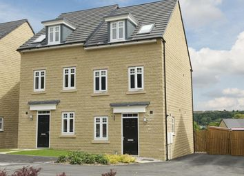 "Thumbnail 3 bedroom semi-detached house for sale in ""Greenwood"" at Manywells Crescent, Cullingworth, Bradford"