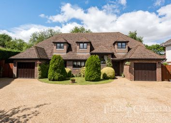 Thumbnail 5 bed detached house for sale in High Pastures, Little Baddow, Chelmsford