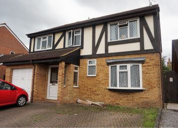 Thumbnail 5 bed detached house for sale in Gifford Road, Swindon