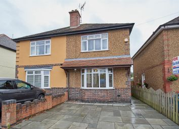 Thumbnail 3 bed semi-detached house for sale in Newstead Avenue, Burbage, Hinckley